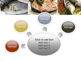 Sea Food Recipes PowerPoint Template#7