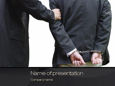 Defendant PowerPoint Template
