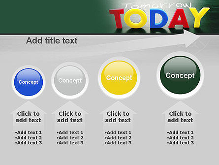 Today, Yesterday, and Tomorrow PowerPoint Template Slide 13
