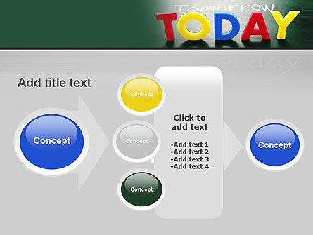 Today, Yesterday, and Tomorrow PowerPoint Template Slide 17