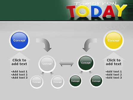 Today, Yesterday, and Tomorrow PowerPoint Template Slide 19