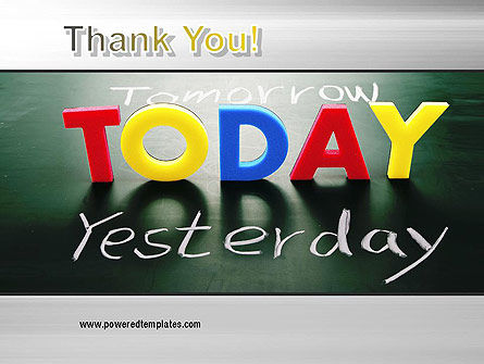 Today Yesterday and Tomorrow PowerPoint Template Slide 20