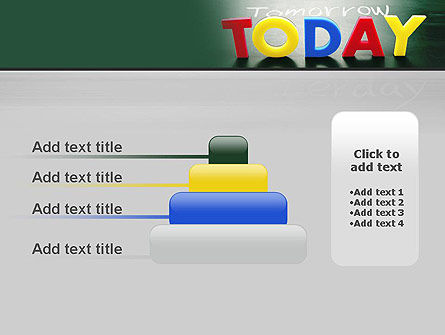 Today Yesterday and Tomorrow PowerPoint Template Slide 8