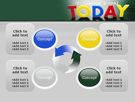 Today Yesterday and Tomorrow PowerPoint Template Slide 9