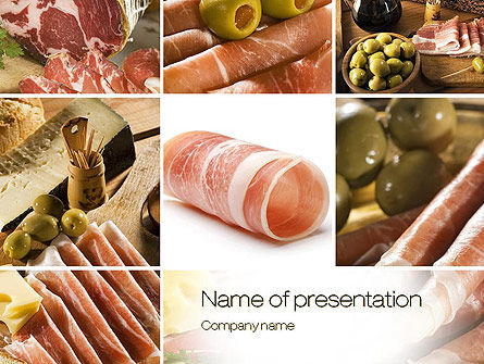 Food & Beverage: Charcuterie Recipes PowerPoint Template #10785