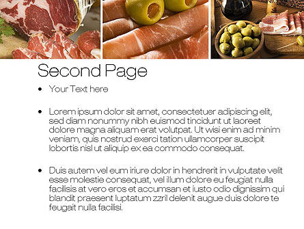 Charcuterie Recipes PowerPoint Template, Slide 2, 10785, Food & Beverage — PoweredTemplate.com
