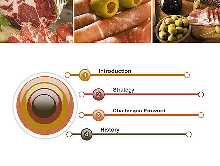 Charcuterie Recipes PowerPoint Template, Slide 3, 10785, Food & Beverage — PoweredTemplate.com