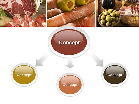Charcuterie Recipes PowerPoint Template, Slide 4, 10785, Food & Beverage — PoweredTemplate.com