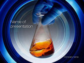 Technology and Science: Beaker PowerPoint Template #10786
