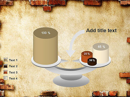 Brick Frame PowerPoint Template Slide 10