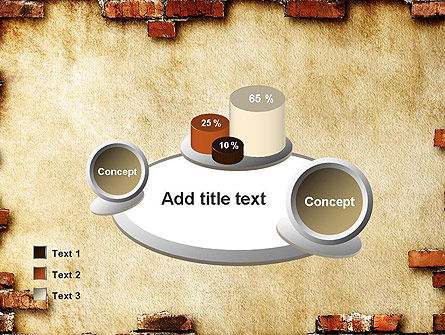 Brick Frame PowerPoint Template Slide 16