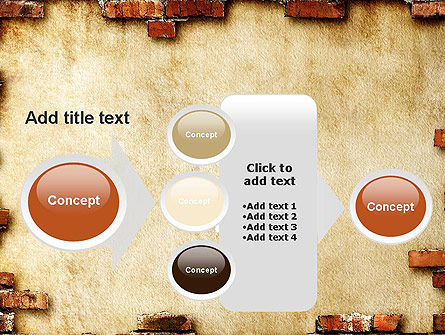 Brick Frame PowerPoint Template Slide 17
