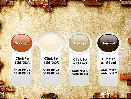 Brick Frame PowerPoint Template Slide 5