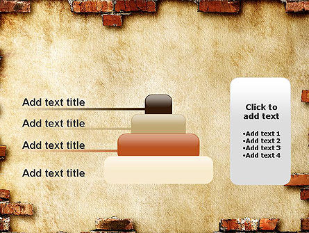 Brick Frame PowerPoint Template Slide 8
