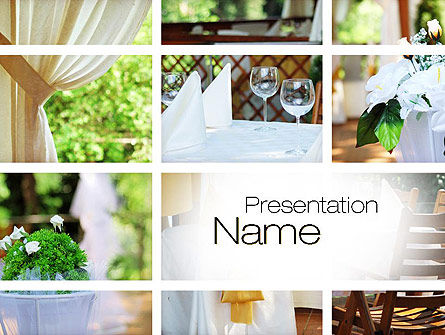 Catering PowerPoint Template, 10788, Careers/Industry — PoweredTemplate.com