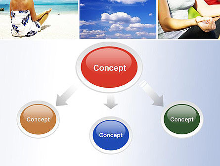 Yoga Collage PowerPoint Template, Slide 4, 10790, Sports — PoweredTemplate.com