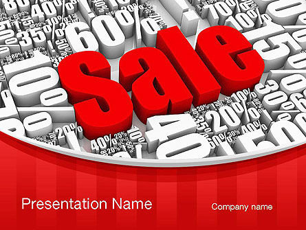 Clearance Sale PowerPoint Template