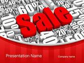 Careers/Industry: Plantilla de PowerPoint - venta de liquidación #10791