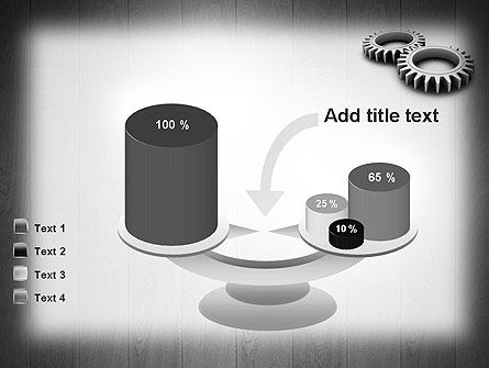 Interlocking Gears PowerPoint Template Slide 10