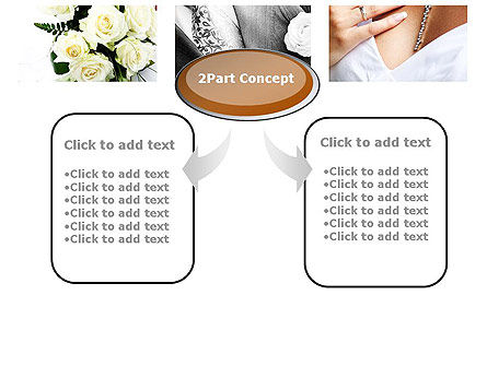 Wedding Moments PowerPoint Template, Slide 4, 10794, Holiday/Special Occasion — PoweredTemplate.com
