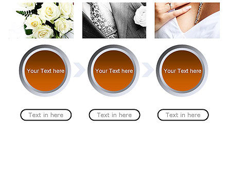 Wedding Moments PowerPoint Template Slide 5