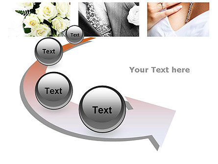Wedding Moments PowerPoint Template Slide 6