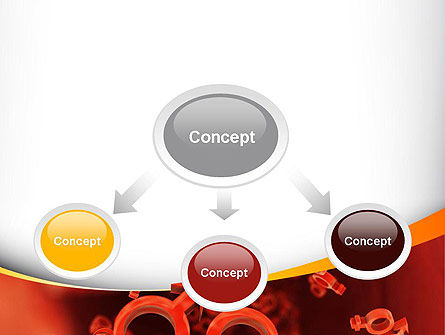 Sex Cells PowerPoint Template, Slide 4, 10795, Medical — PoweredTemplate.com