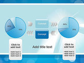 Business Theme in Blue PowerPoint Template#11