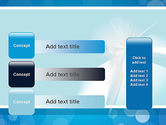 Business Theme in Blue PowerPoint Template#12