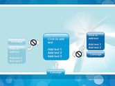Business Theme in Blue PowerPoint Template#13