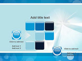 Business Theme in Blue PowerPoint Template#16