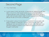 Business Theme in Blue PowerPoint Template#2