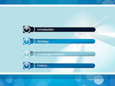 Business Theme in Blue PowerPoint Template#3