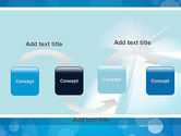 Business Theme in Blue PowerPoint Template#4