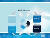 Business Theme in Blue PowerPoint Template#6
