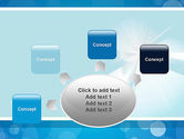 Business Theme in Blue PowerPoint Template#7