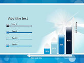 Business Theme in Blue PowerPoint Template#8