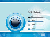 Business Theme in Blue PowerPoint Template#9