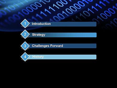 Digital Bitstream PowerPoint Template Slide 3