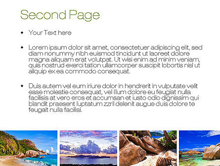 Seychelles PowerPoint Template, Slide 2, 10802, Nature & Environment — PoweredTemplate.com