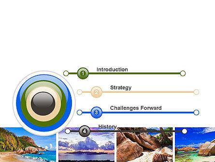 Seychelles PowerPoint Template, Slide 3, 10802, Nature & Environment — PoweredTemplate.com