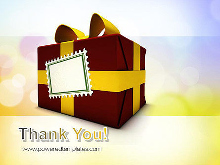 Red Gift Box PowerPoint Template Slide 20