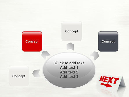 Sign Next PowerPoint Template Slide 7
