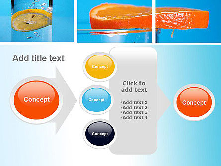 Lemon and Oranges Collage PowerPoint Template Slide 17