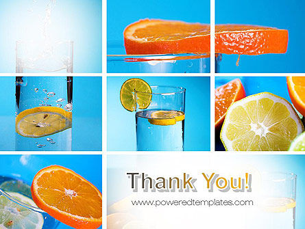 Lemon and Oranges Collage PowerPoint Template Slide 20
