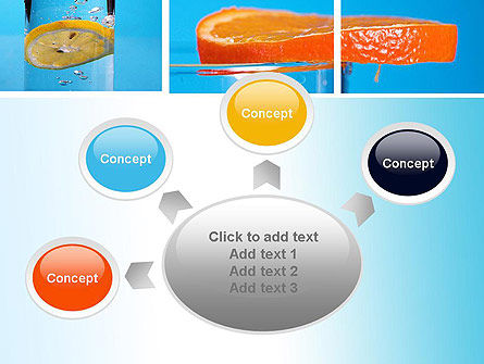 Lemon and Oranges Collage PowerPoint Template Slide 7