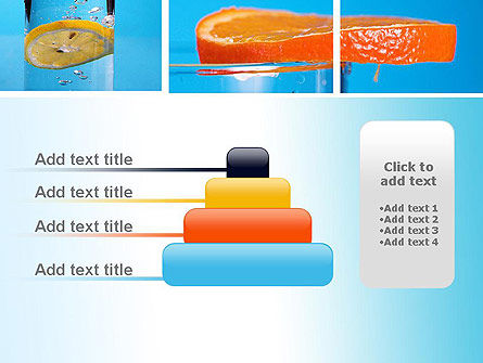 Lemon and Oranges Collage PowerPoint Template Slide 8