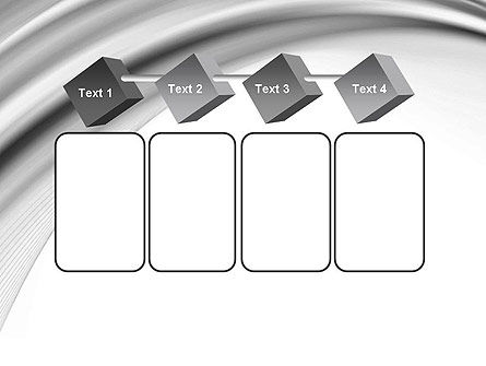 Gray Curves PowerPoint Template Slide 18