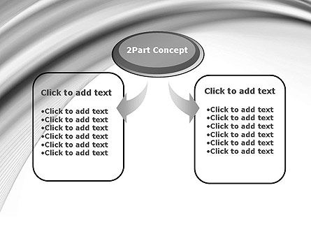 Gray Curves PowerPoint Template Slide 4