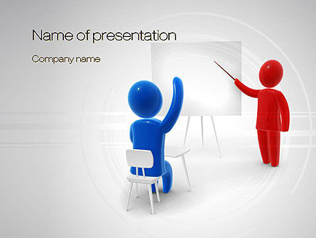 Teacher Question PowerPoint Template
